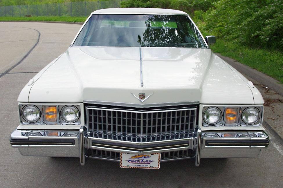 File 1973 Cadillac Sedan Deville Cotillion White Front Jpg