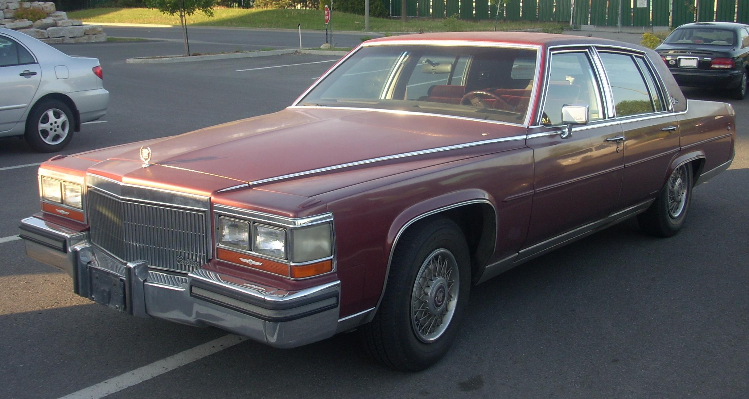 File 1990 92 Cadillac Brougham Jpg Wikimedia Commons