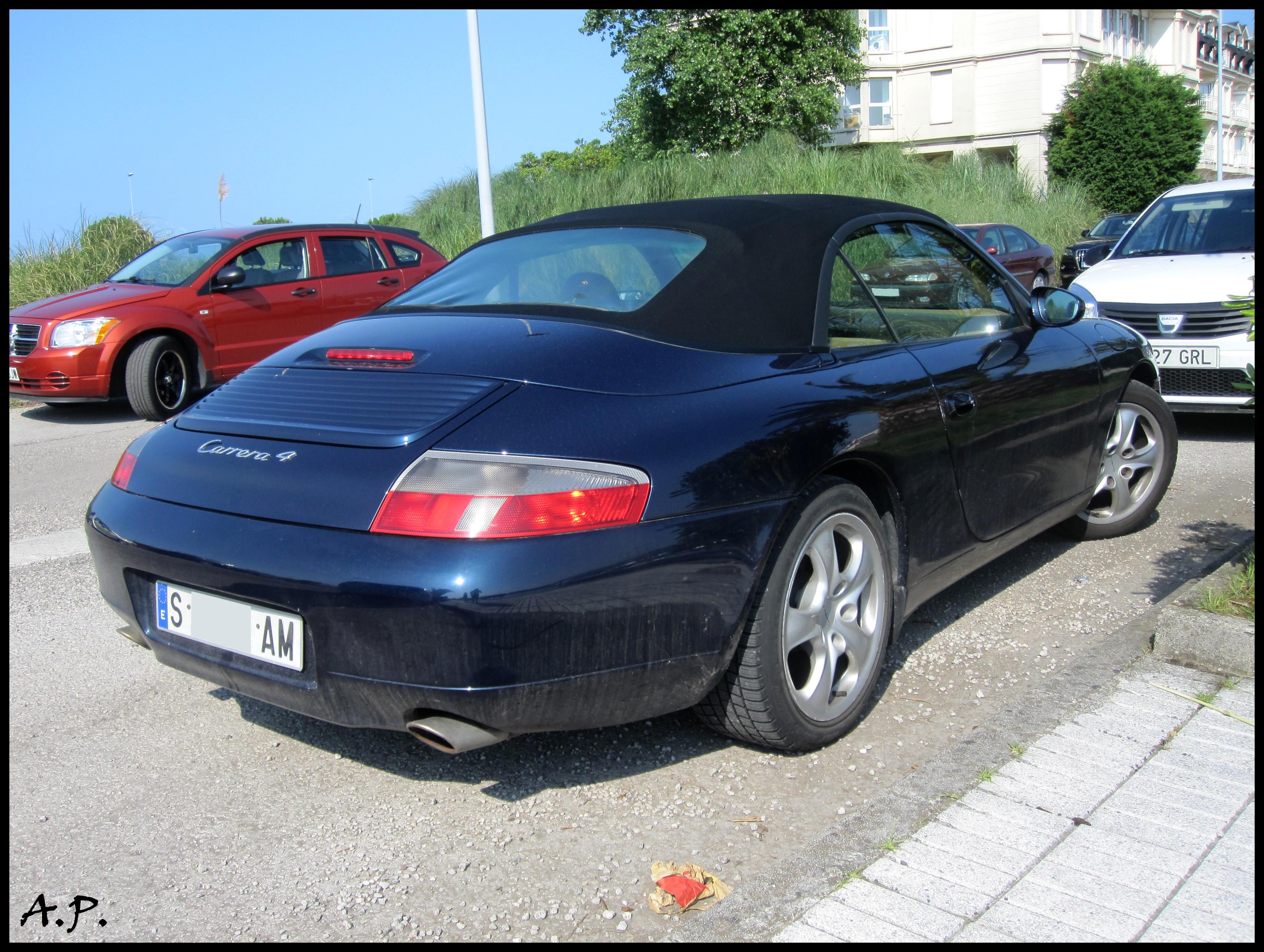 File 1999 Porsche 911 Carrera 4 Cabrio 996 4805201513 Jpg Wikimedia Commons