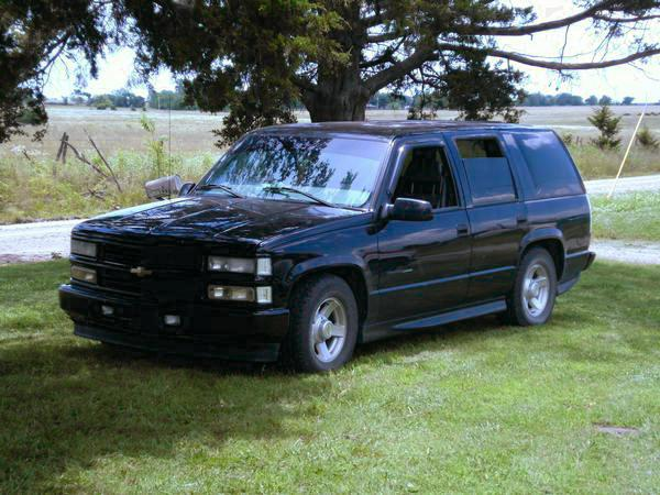 Chevy tahoe limited