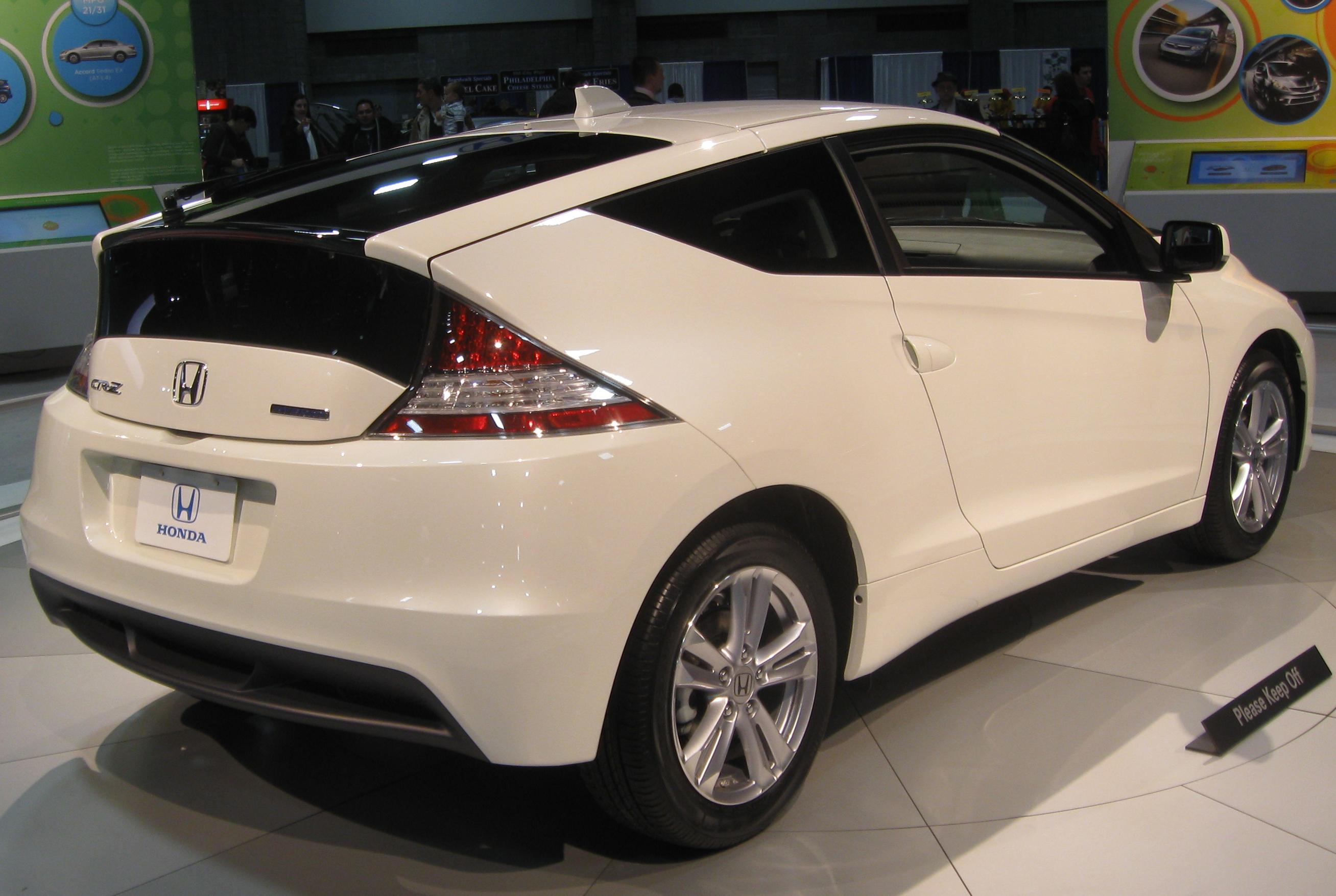 File 2017 Honda Cr Z Rear 2010 Dc Jpg