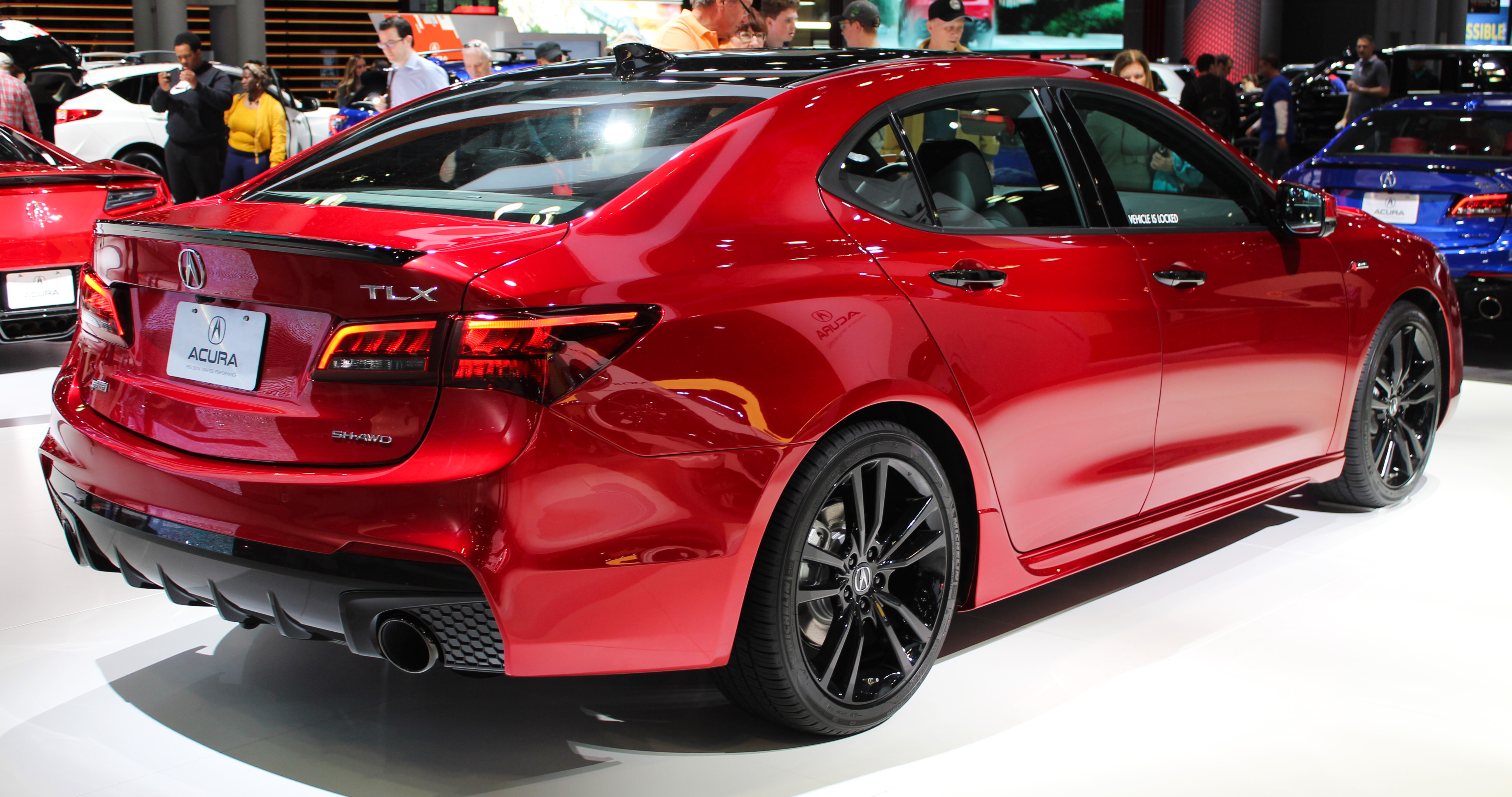 File 2019 Acura Tlx A Spec Sh Awd In Red Rear Nyias 2019 Jpg Wikimedia Commons