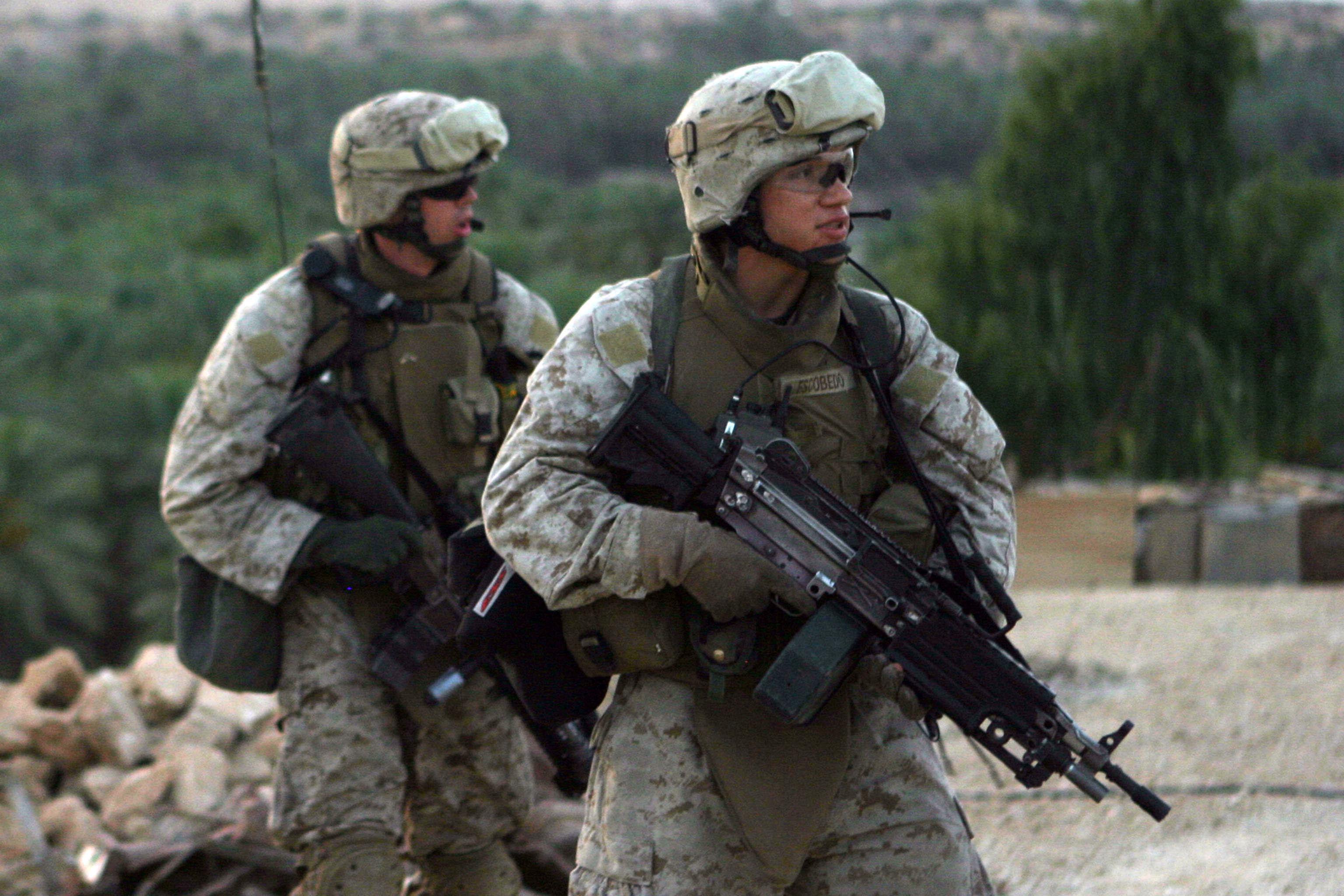marine corp rifleman