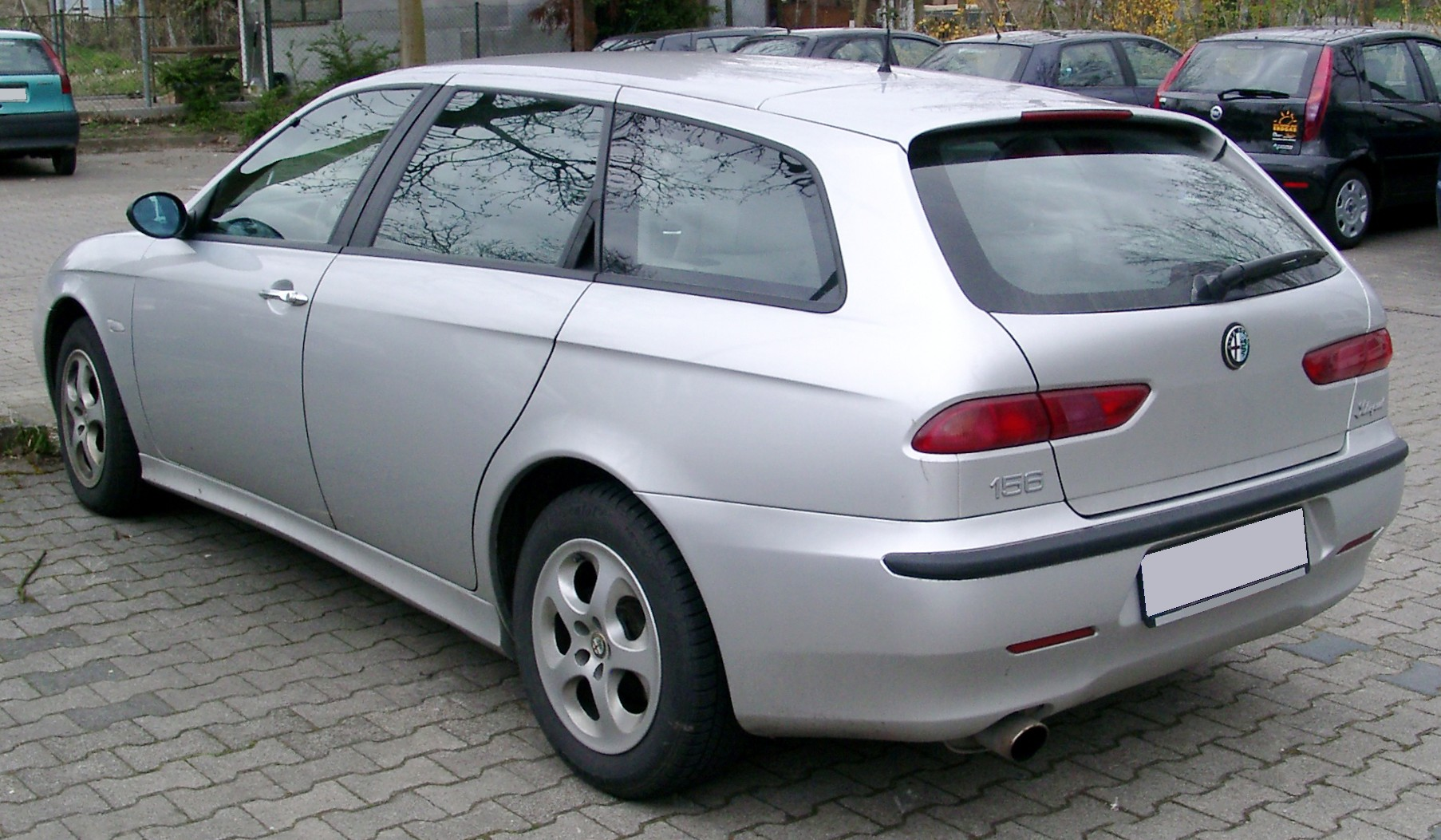 File:Alfa 156 Sportwagon rear 20080403.jpg
