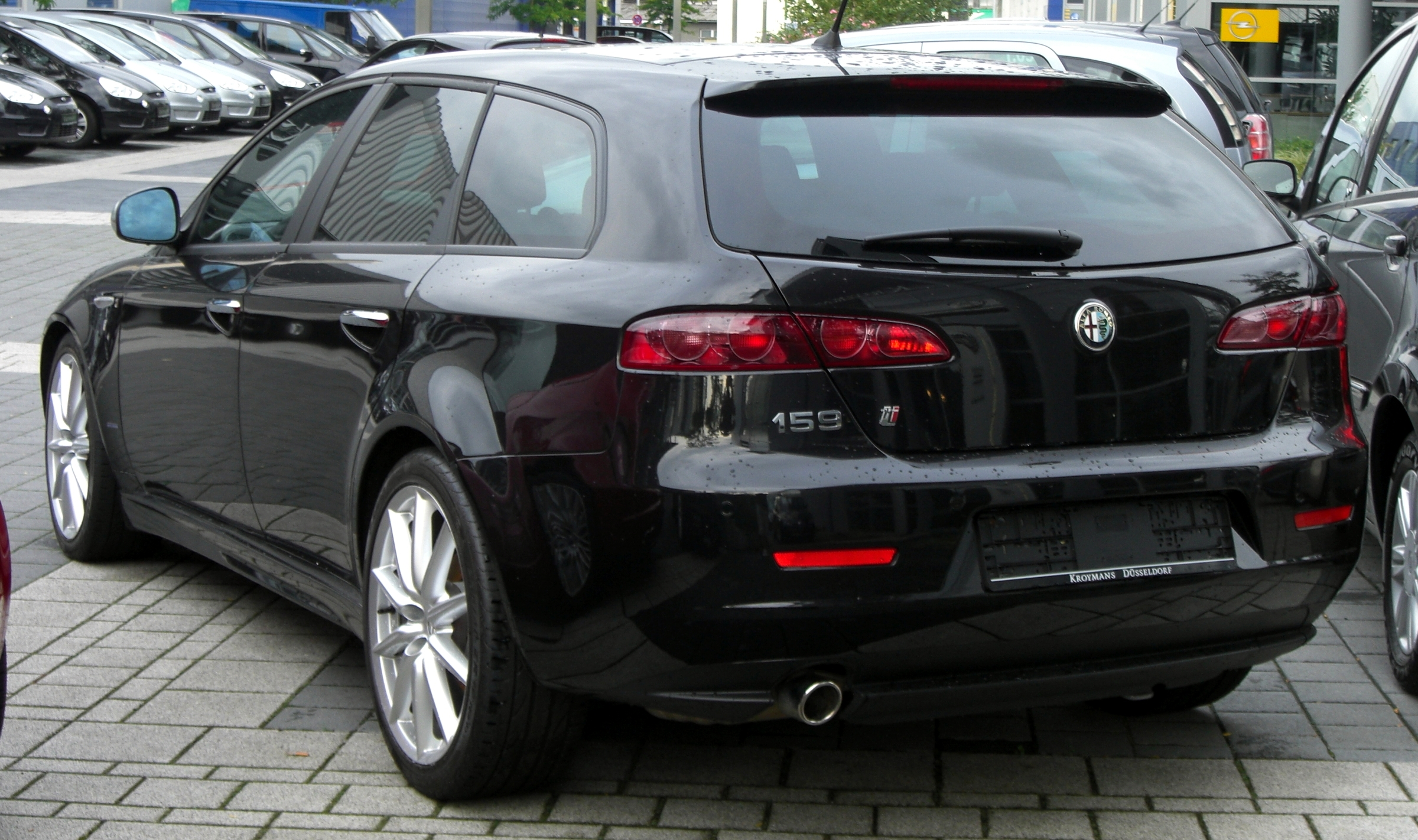 file alfa romeo 159ti sport wagon rear jpg wikipedia. Black Bedroom Furniture Sets. Home Design Ideas