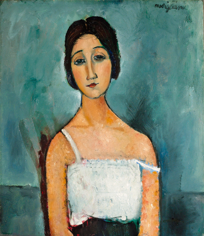 Bonhams : Amedeo Modigliani (1884-1920) Christina 80 x 69