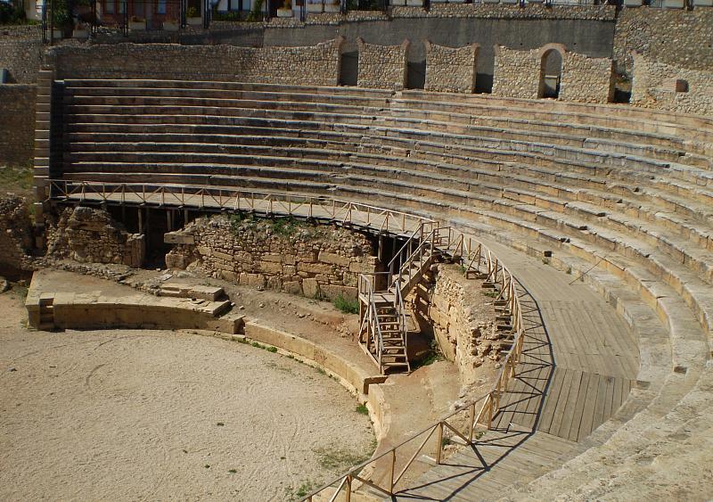 Datei:Amphitheater, Ohrid.jpg