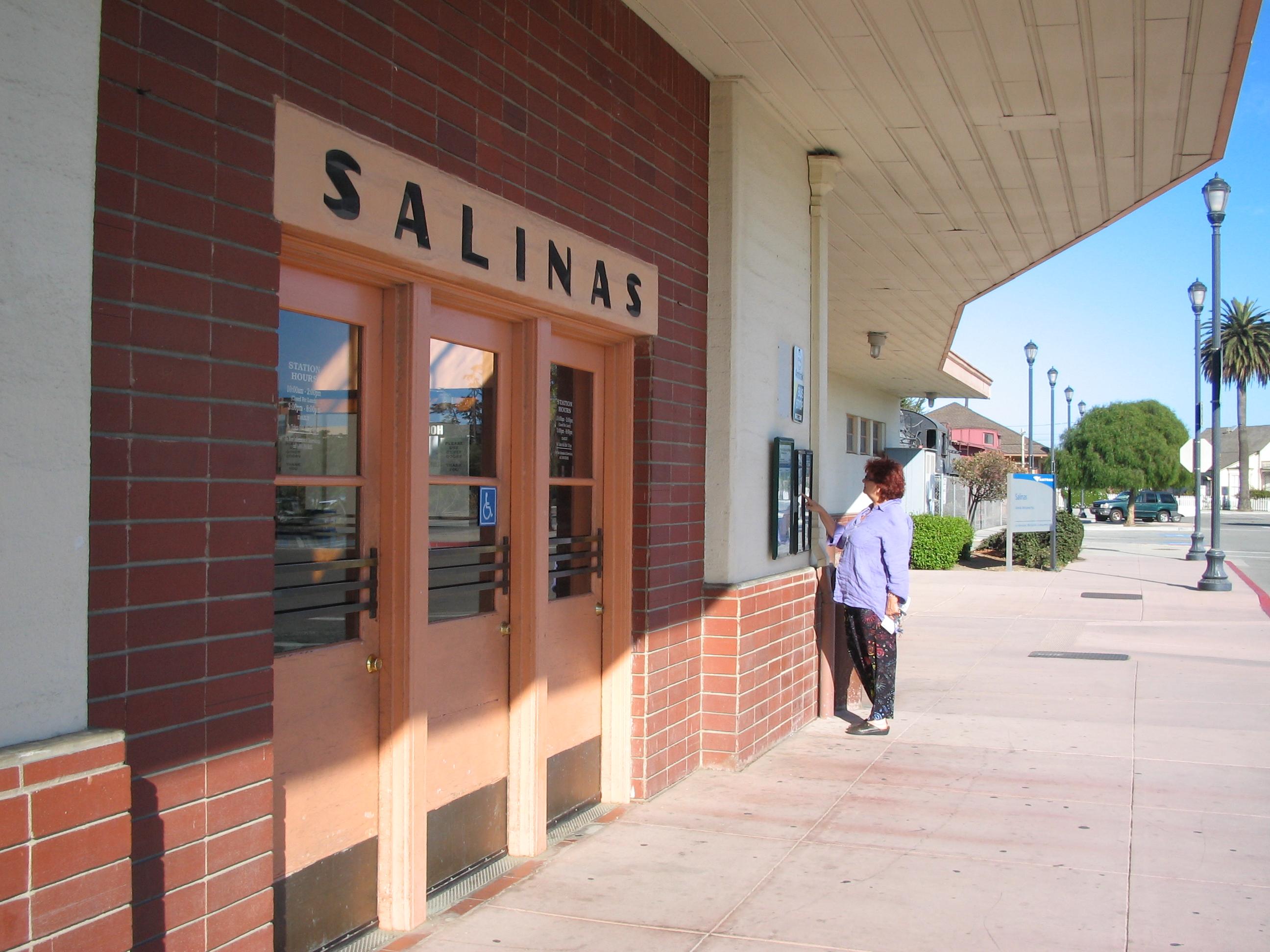 Art Deco Style Amtrak Train Station in Salinas.