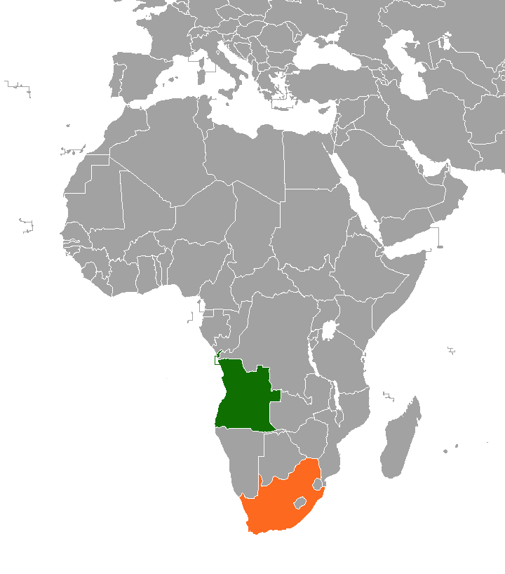Angola–South Africa relations Diplomatic relations between the Republic of Angola and the Republic of South Africa
