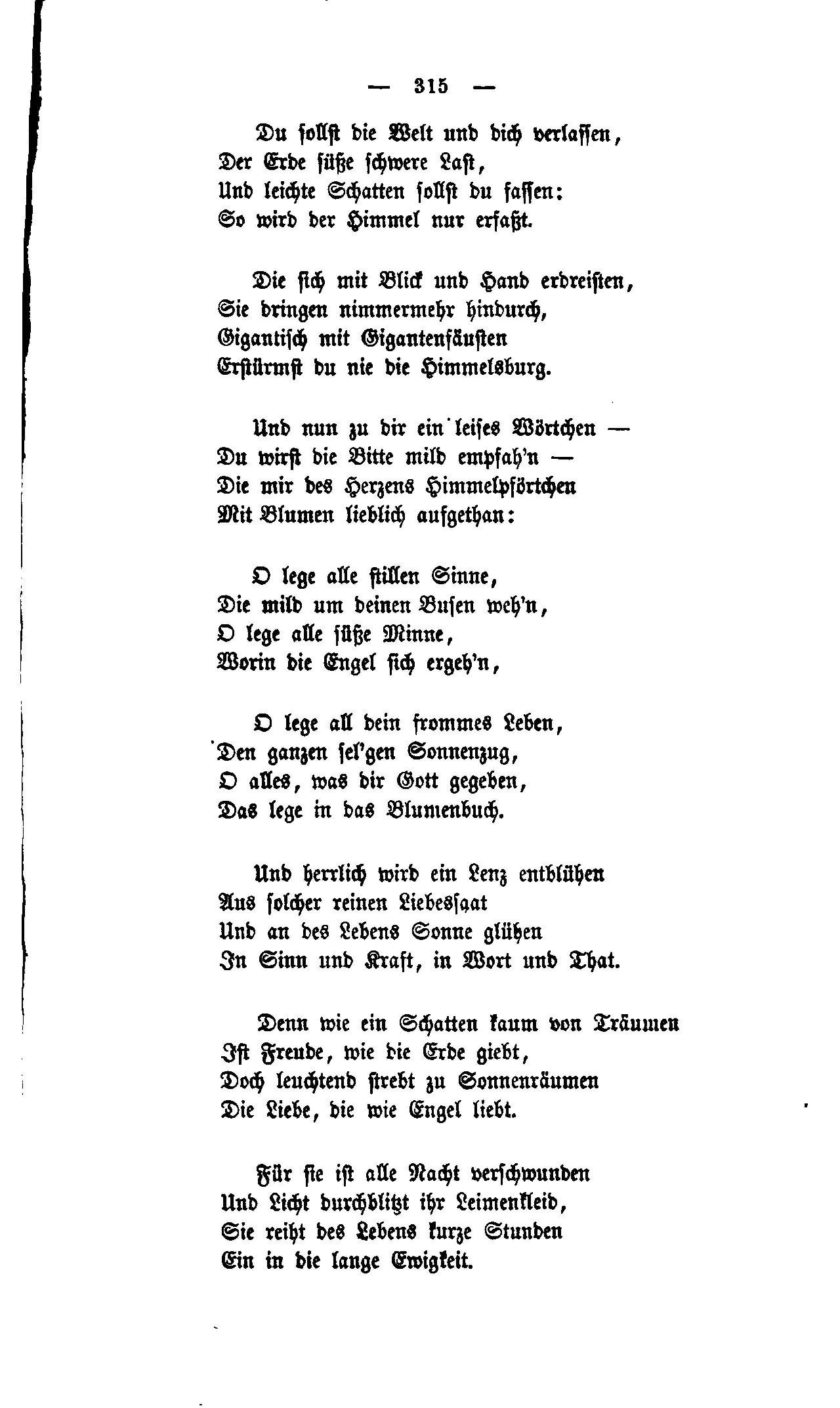 Lange leichte gedichte