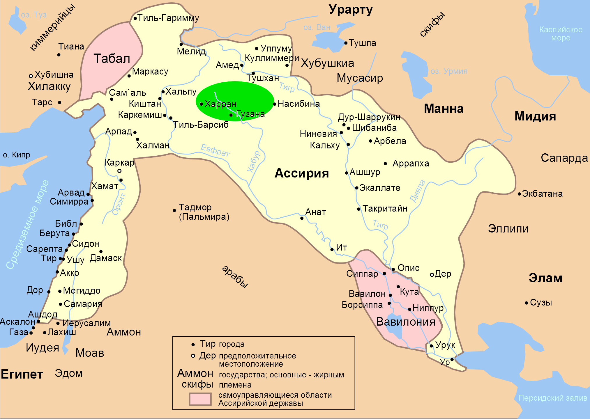 Assyria Map | www.pixshark.com - Images Galleries With A Bite!