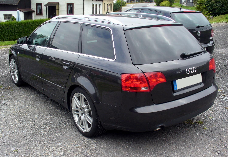 File Audi A4 B7 Avant Heck Jpg Wikimedia Commons