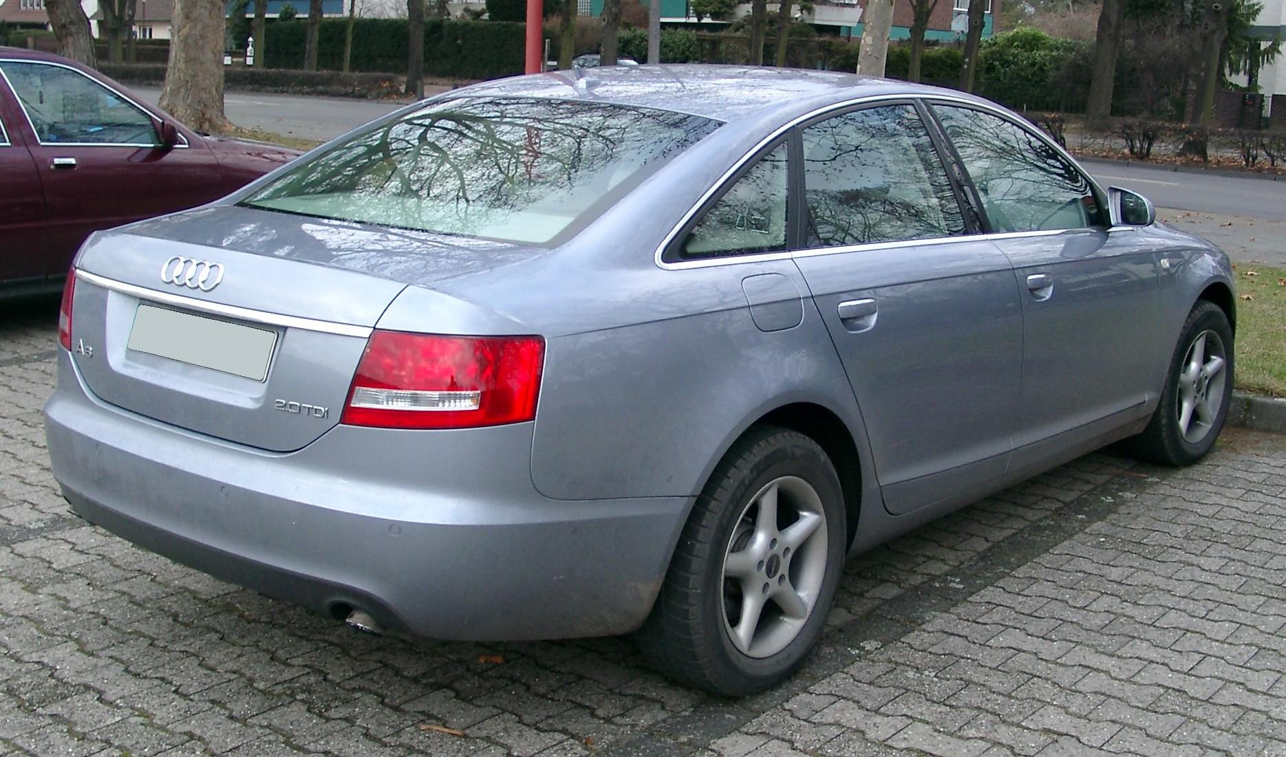 Audi A6 C6 Limousine Wymiary