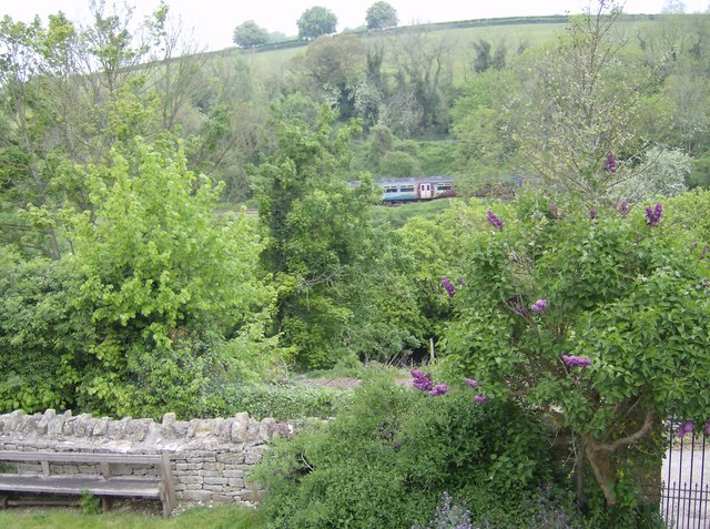 Avon valley at Avoncliff - geograph.org.uk - 438759