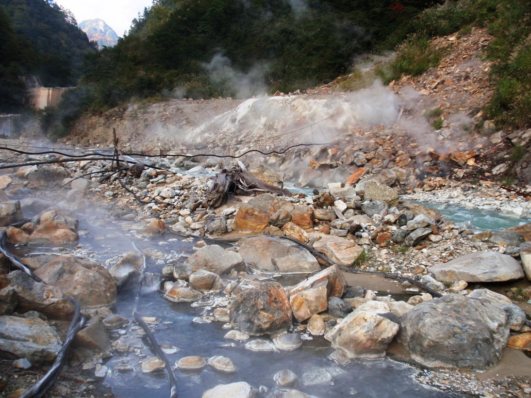 「黒部峡谷 温泉」の画像検索結果