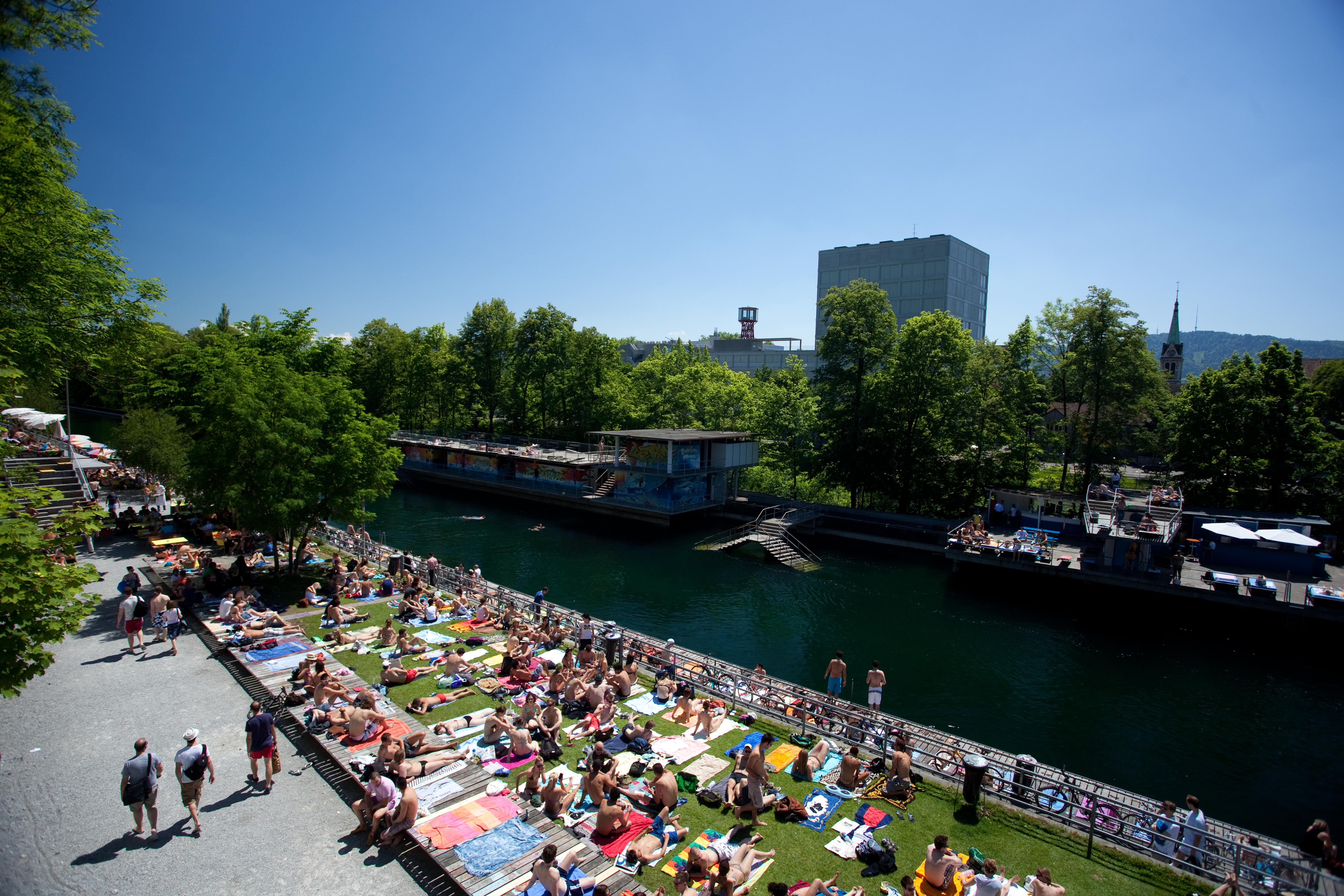 Viajadora: Oberer Letten no verão em Zurique