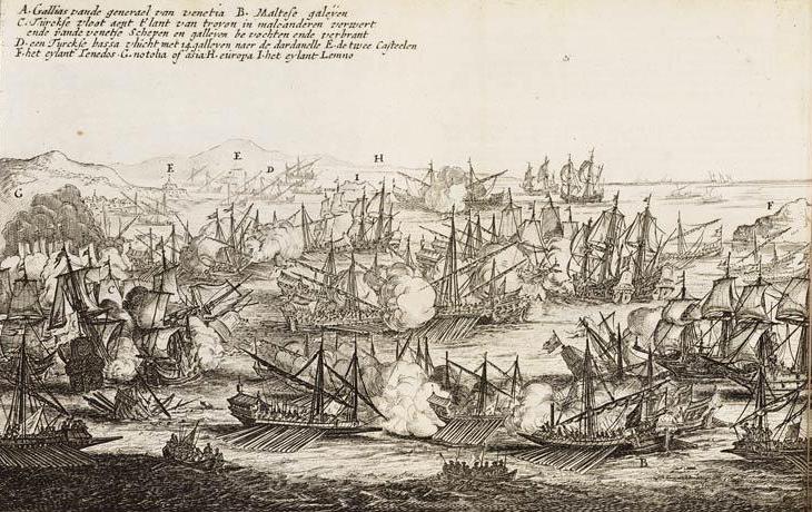 David Cameron - history maker or historically naive? Battle_of_the_Dardanelles_%281656%29%28Pieter_Casteleyn%2C_1657%29