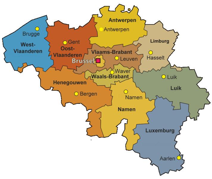 Provincies van België - Wikipedia