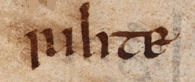 """rihte,"" an Old English word for 'right'"