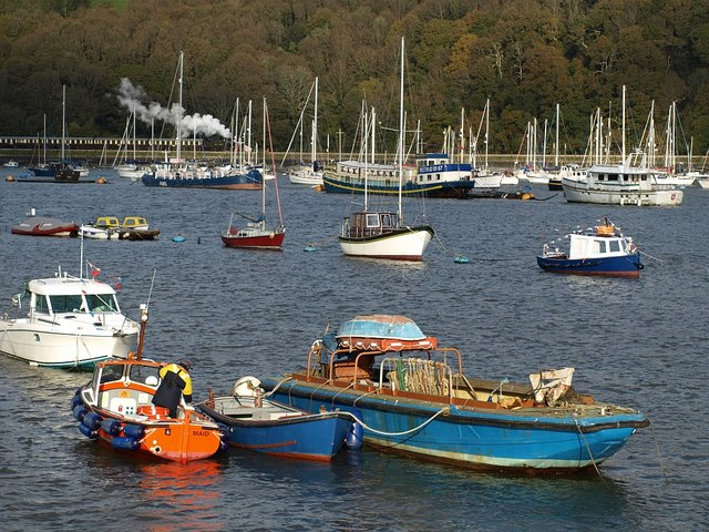 Boats at Dartmouth - geograph.org.uk - 1033666