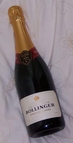 illustration de Champagne Bollinger