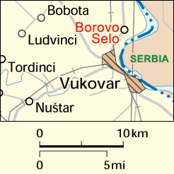 Location of Borovo