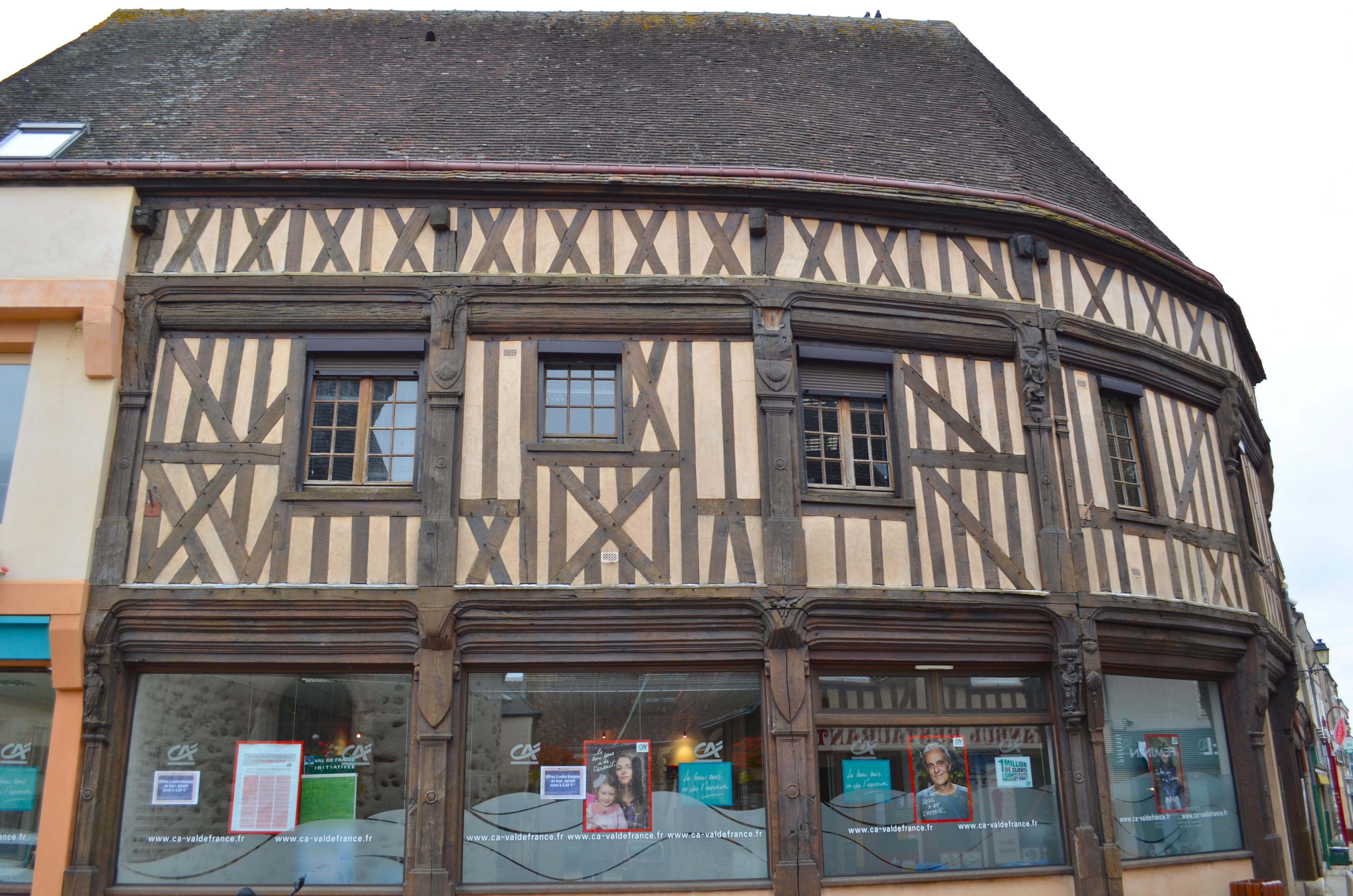 FileBrou  Maison à pans de boisjpg  Wikimedia Commons
