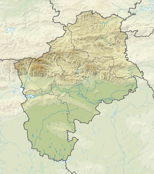 FileBulgaria Sliven Province relief location mapjpg Wikimedia