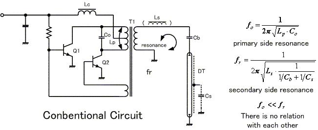 File Ccfl Inverter Ciruit1 Png Wikimedia Commons