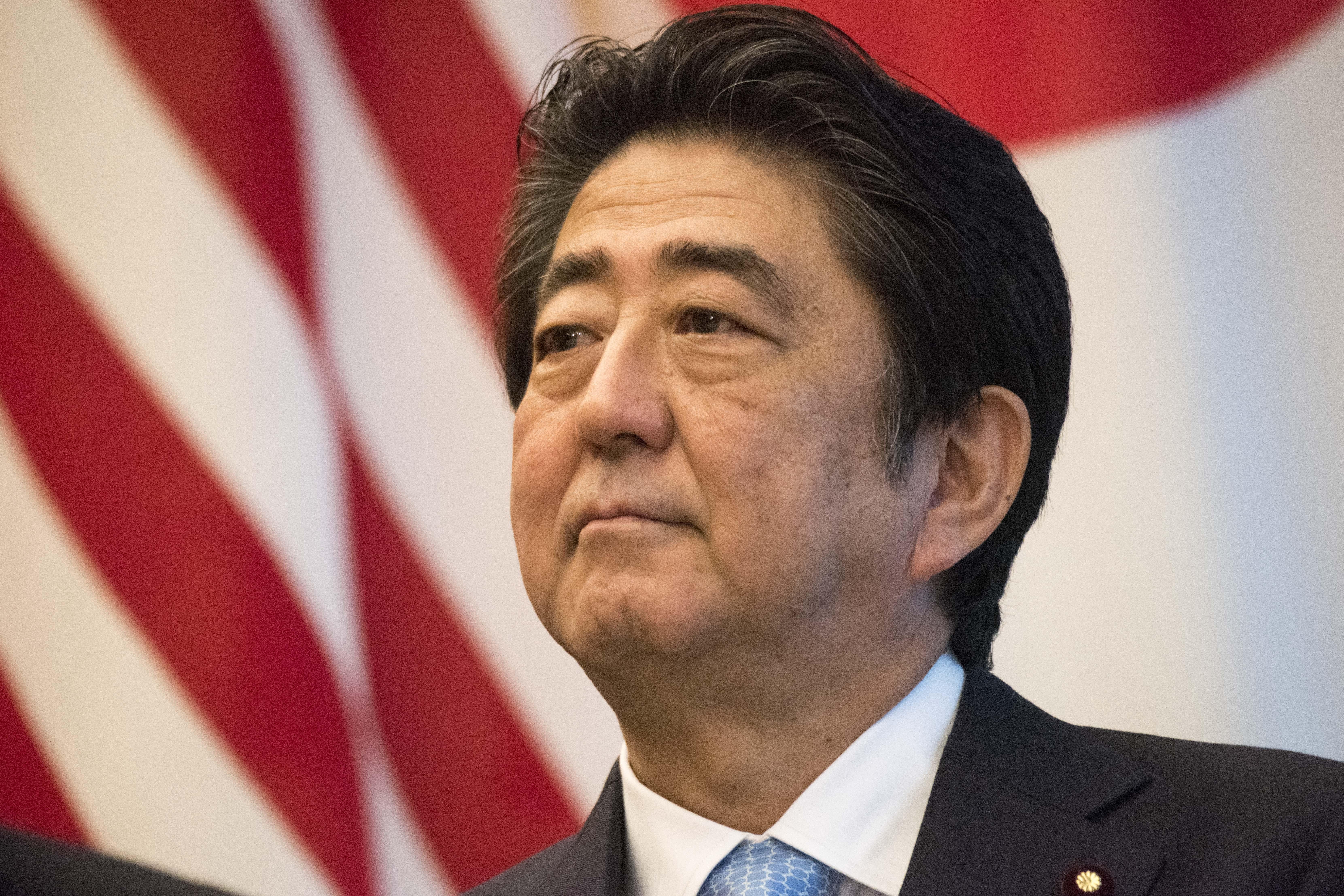 Japanese priminister SHINZO ABE