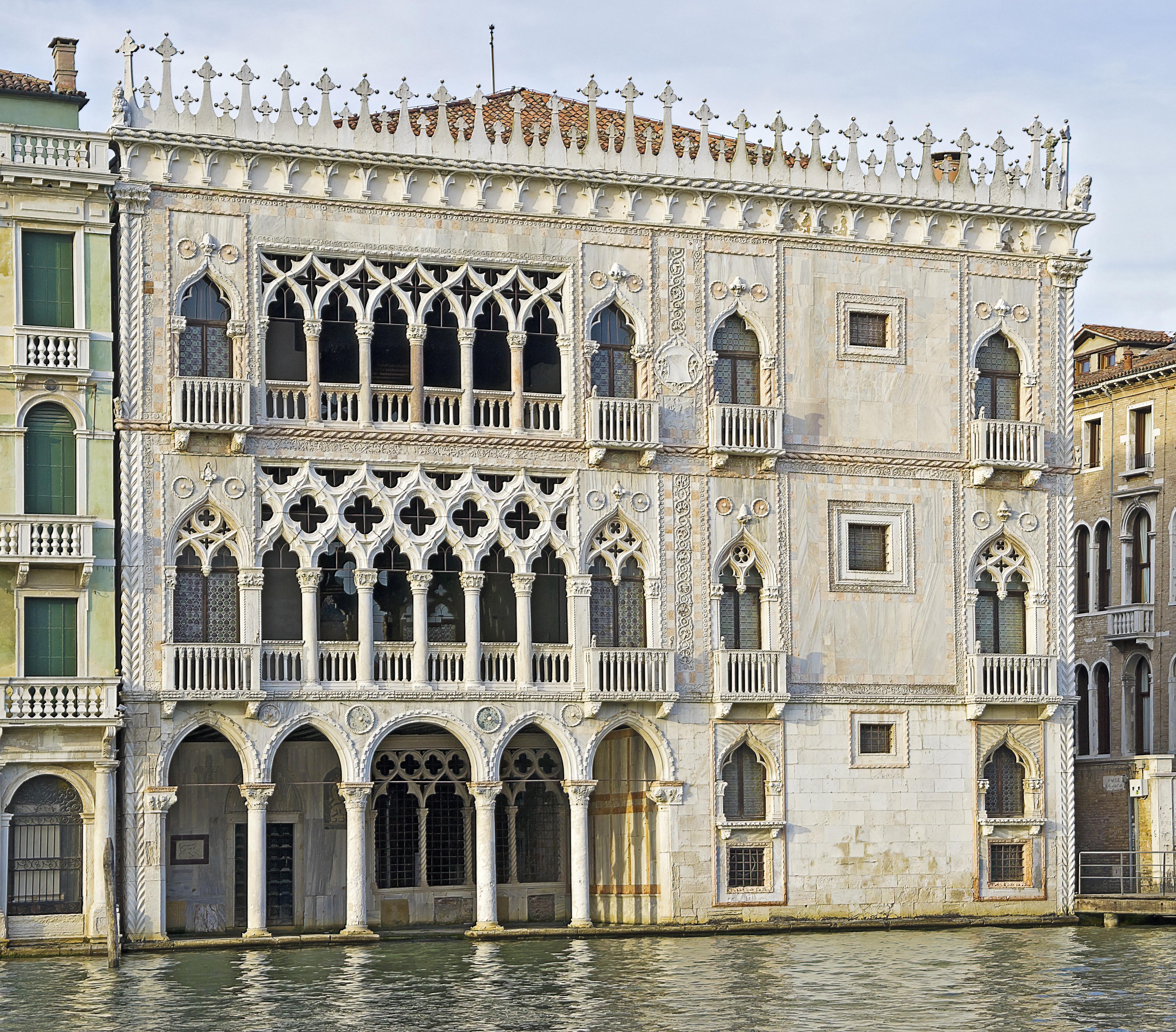 Ca 39 d 39 oro wikiwand for Architecture de la renaissance