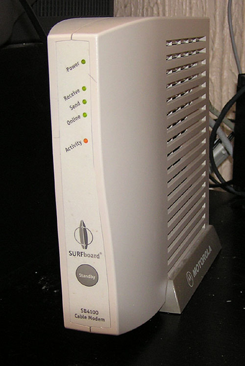 Cable modem - Simple English Wikipedia, the free encyclopedia