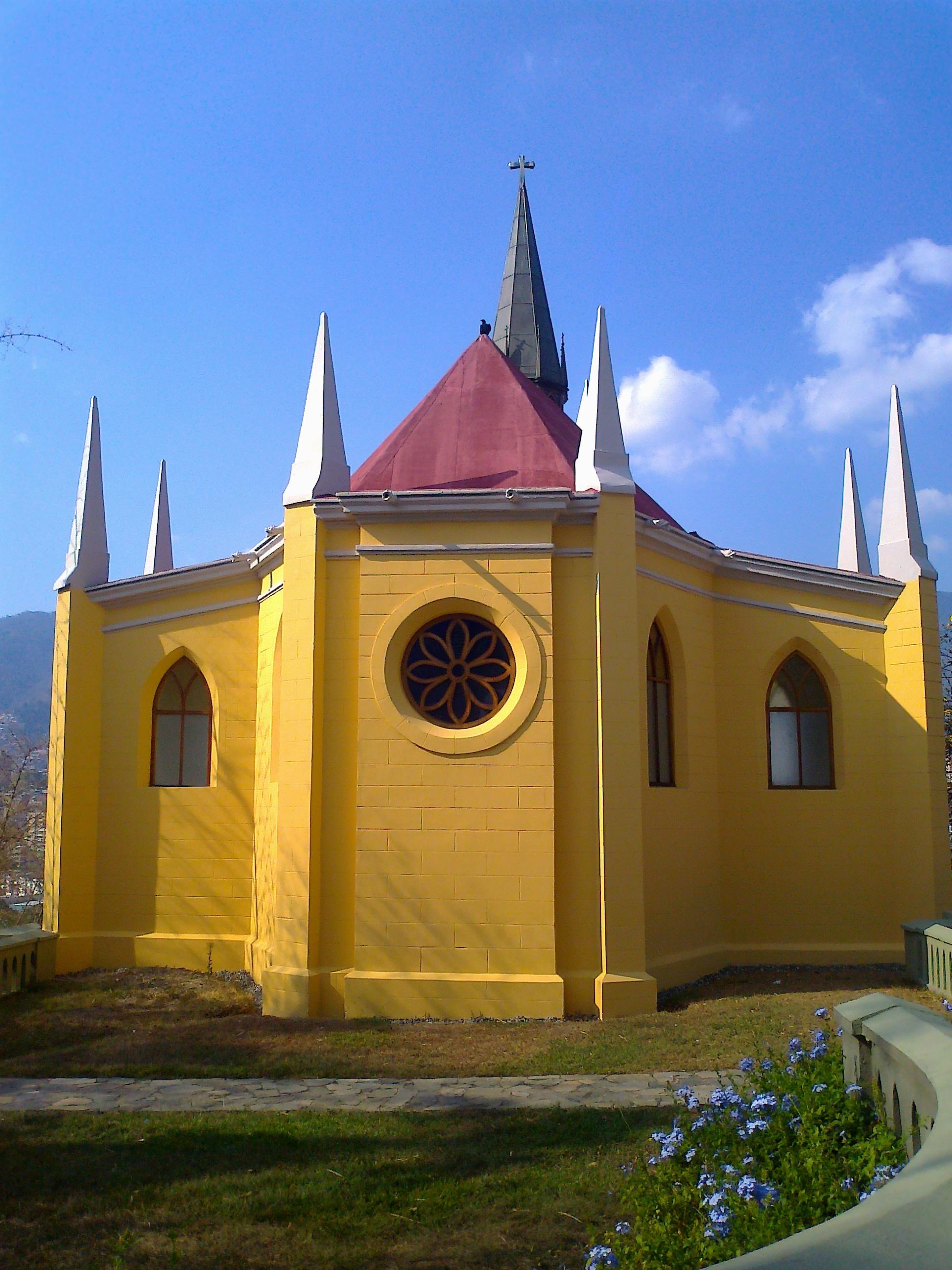 File Capilla Nuestra Señora De Lourdes El Calvario Caracas 01 Jpg Wikimedia Commons