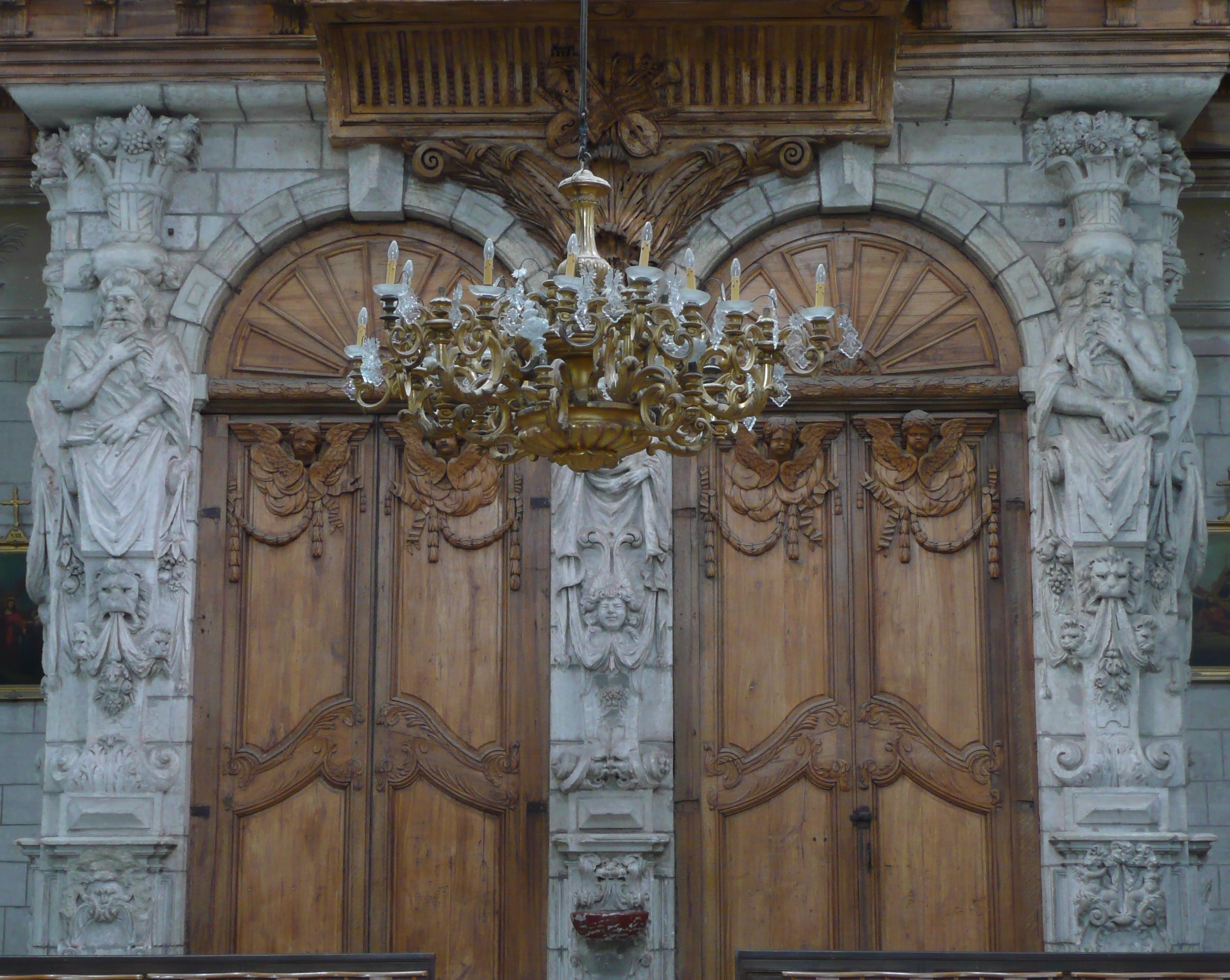 Fichier cath drale de b ziers portail occidental de l for Porte de garage beziers