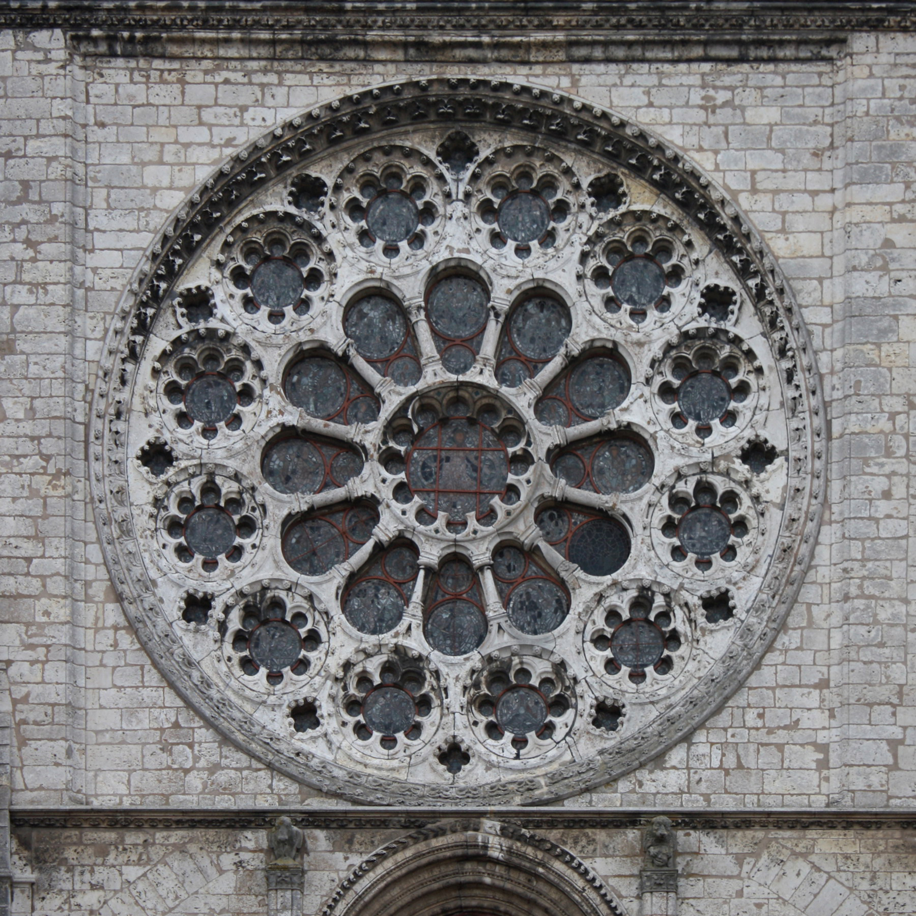 File cath drale de chartres rosace ouest ext rieur jpg for Rose window design