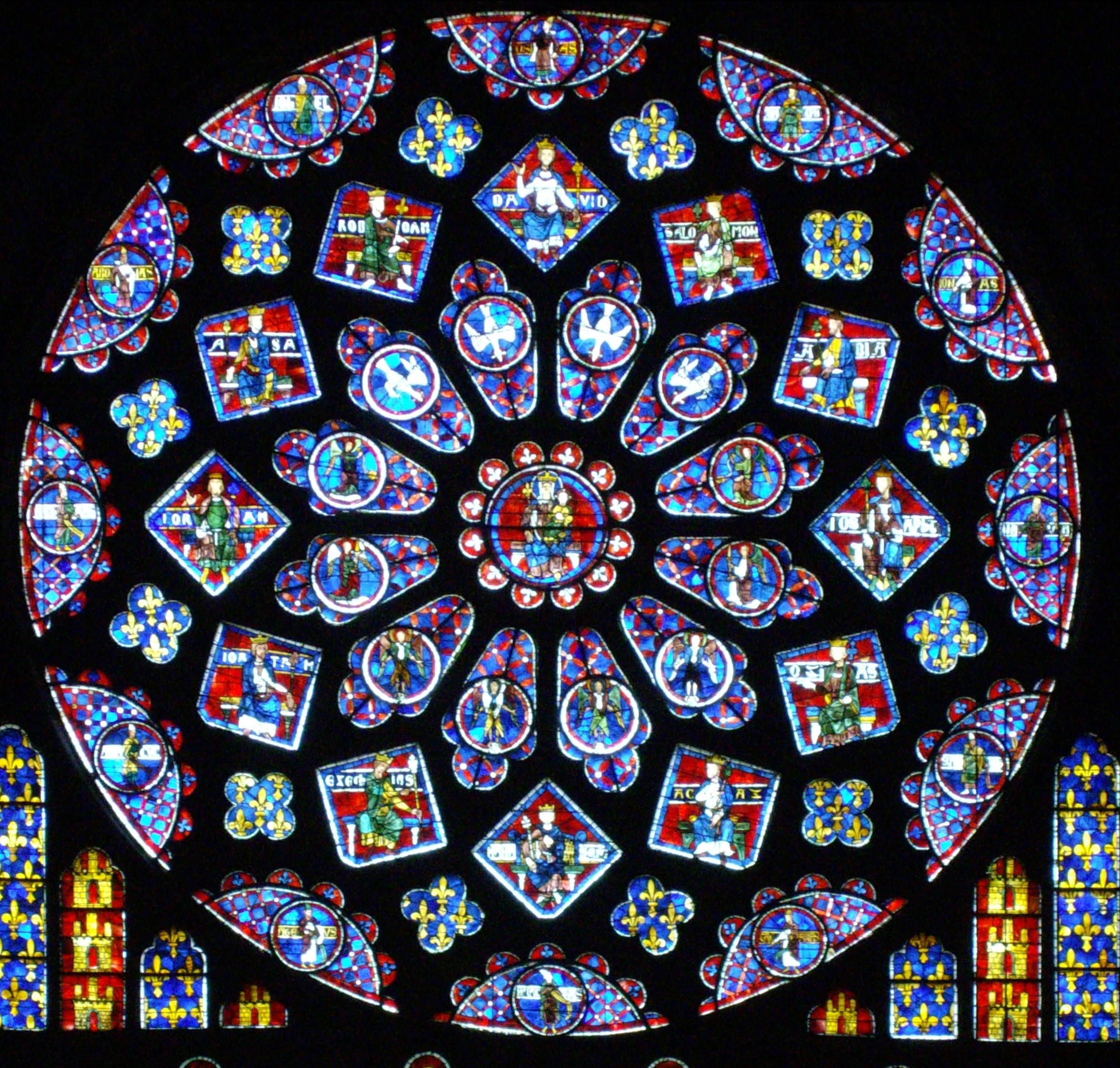 Gantt Chart Template: Cattedrale di Chartres - Wikipedia,Chart