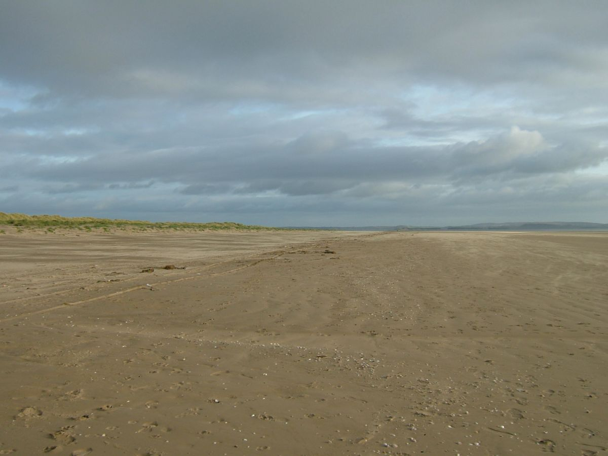 How Long Is Cefn Sidan Beach