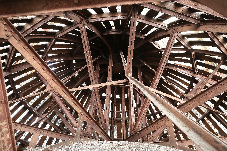 Chantier de rénovation de la toiture.jpg Français : Chantier de rénovation de la toiture du musée, en 2016. English: Worksite for the renovation of the roof