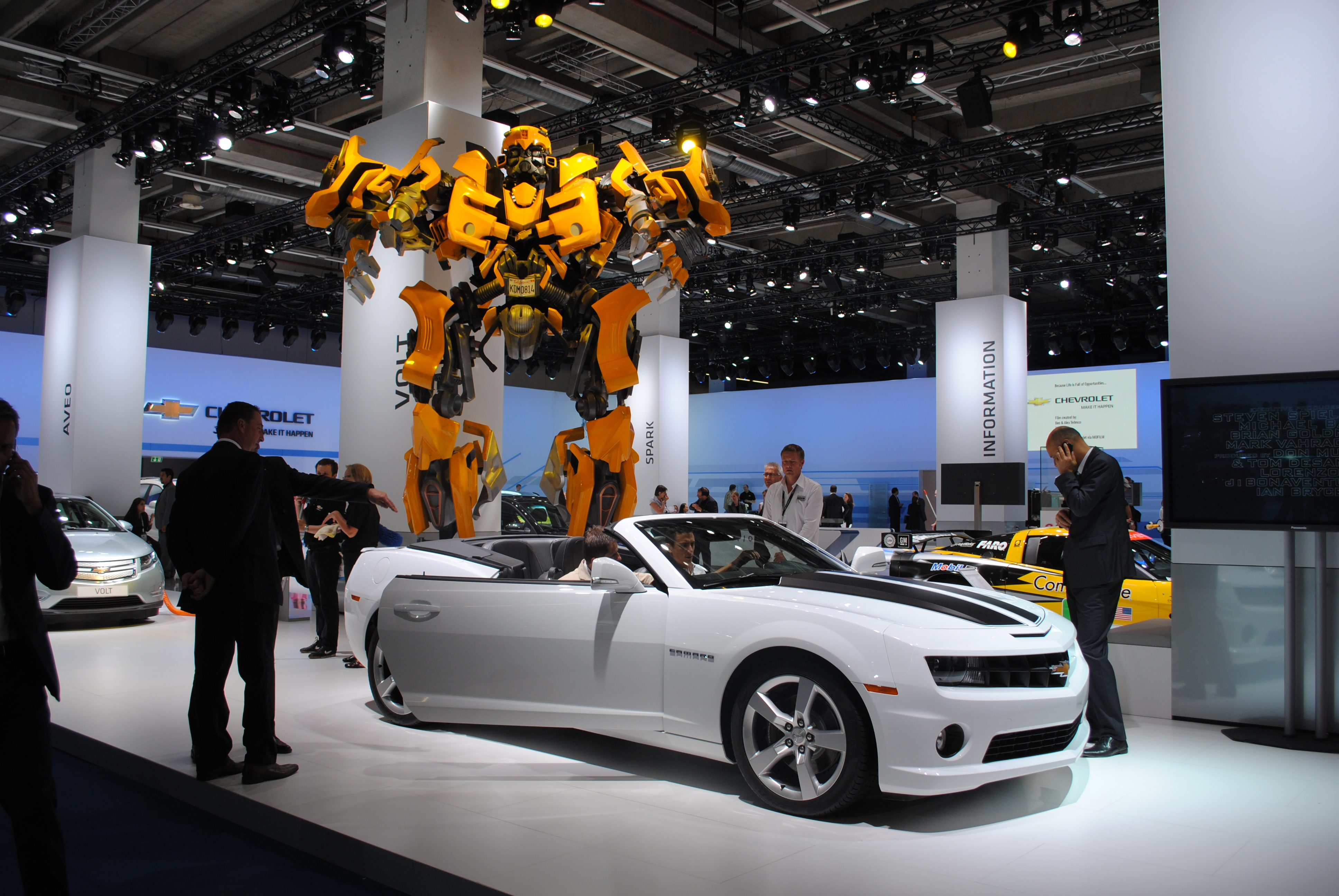 File Chevrolet Camaro Zl1 At The Frankfurt Motor Show Iaa