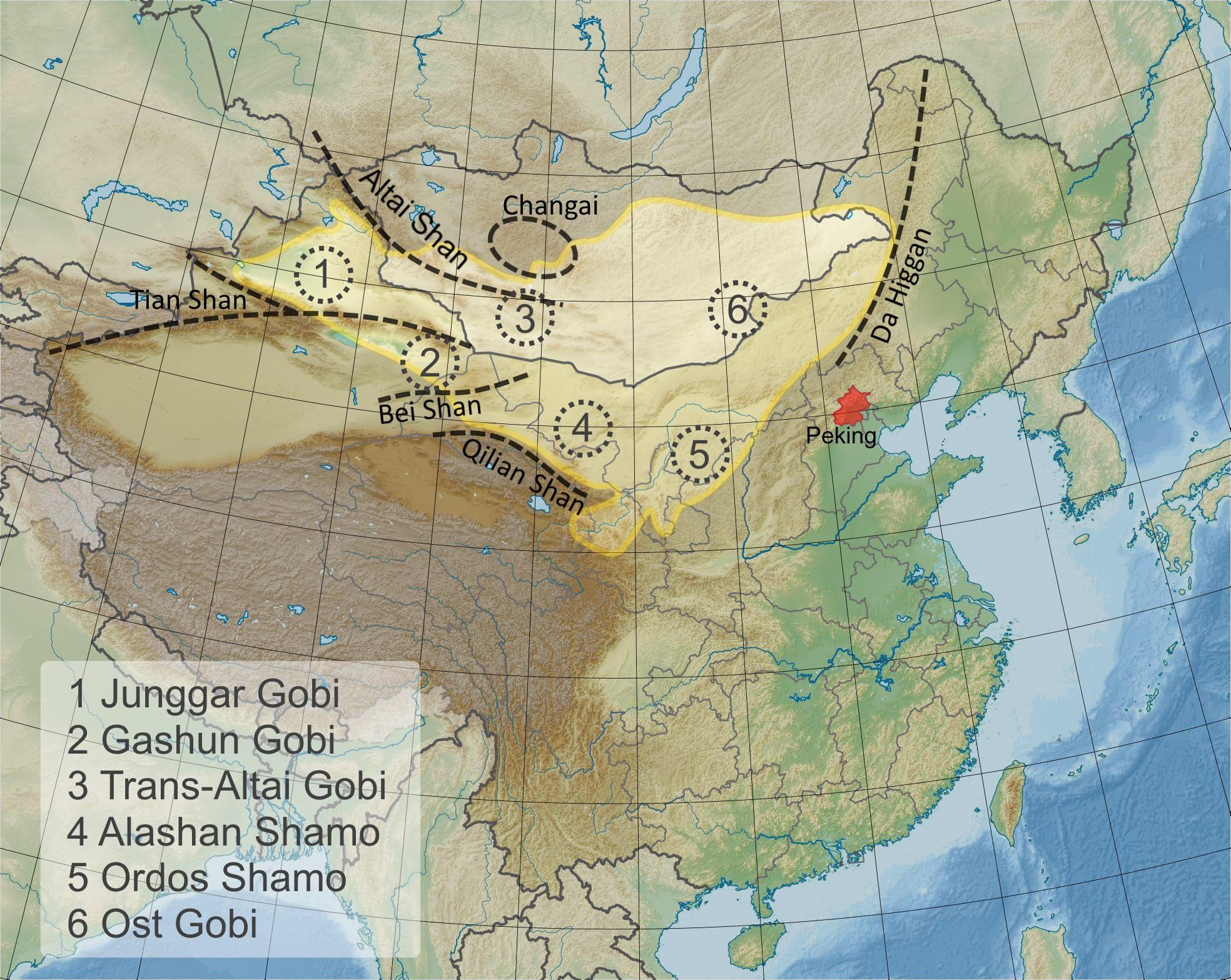 wüste gobi karte Gobi – Wikipedia wüste gobi karte