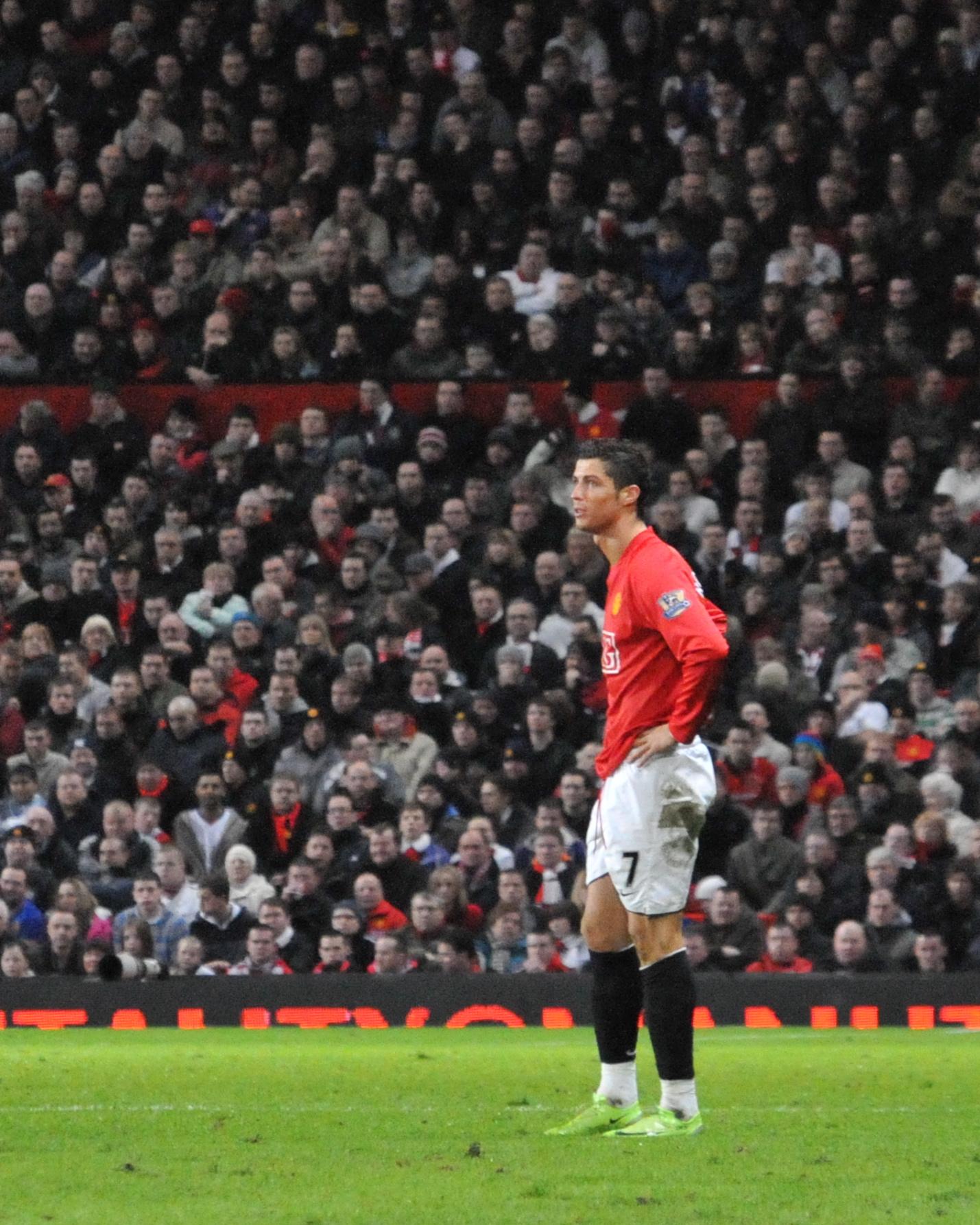 File Cristiano Ronaldo Manchester United Jpg Wikimedia Commons