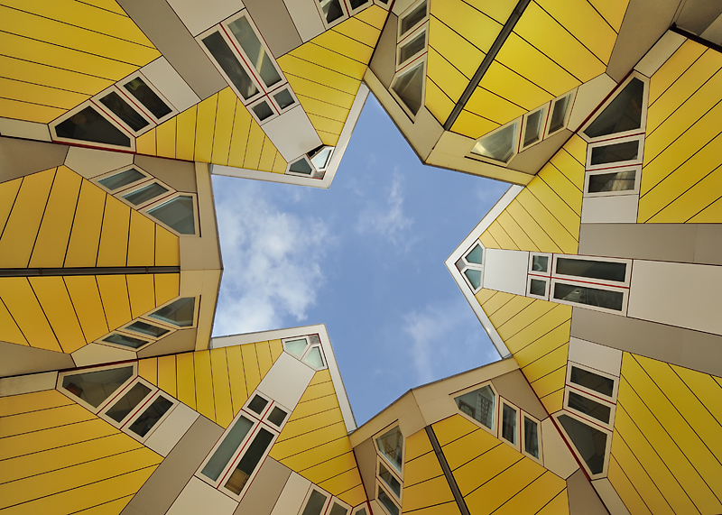 Cubic Houses, Rotterdarm
