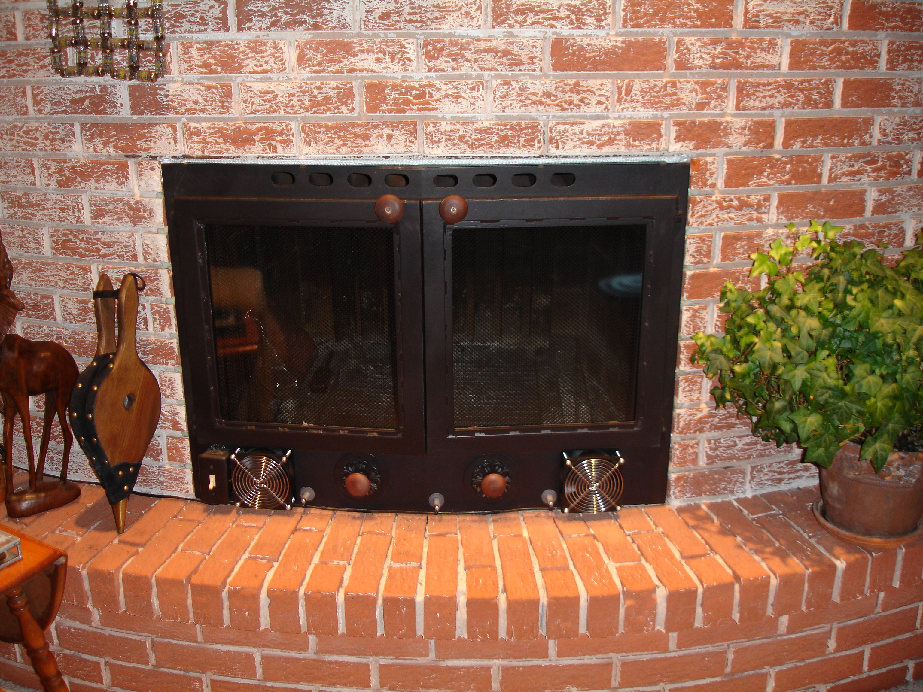file custom fitted fireplace wikimedia commons