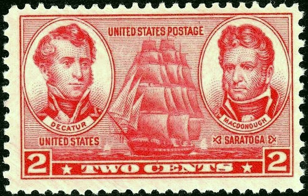 U.S. Postage Stamp, Navy Issue of 1937