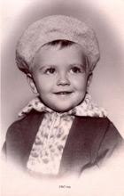 Dmitry Medvedev nel 1967 all'età di 2 anni