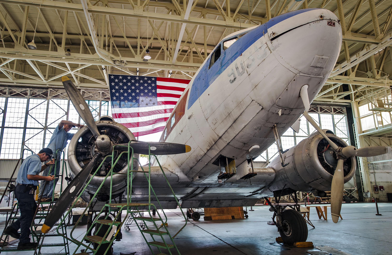 Douglas C-47 Restoration Pacific Aviation Museum