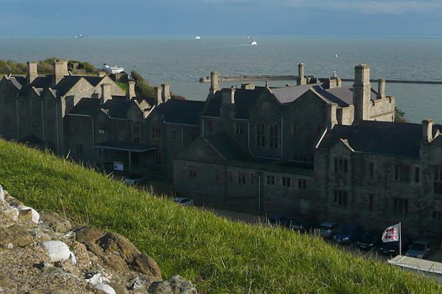 Dover Castle, Officers' new barracks - geograph.org.uk - 2139567
