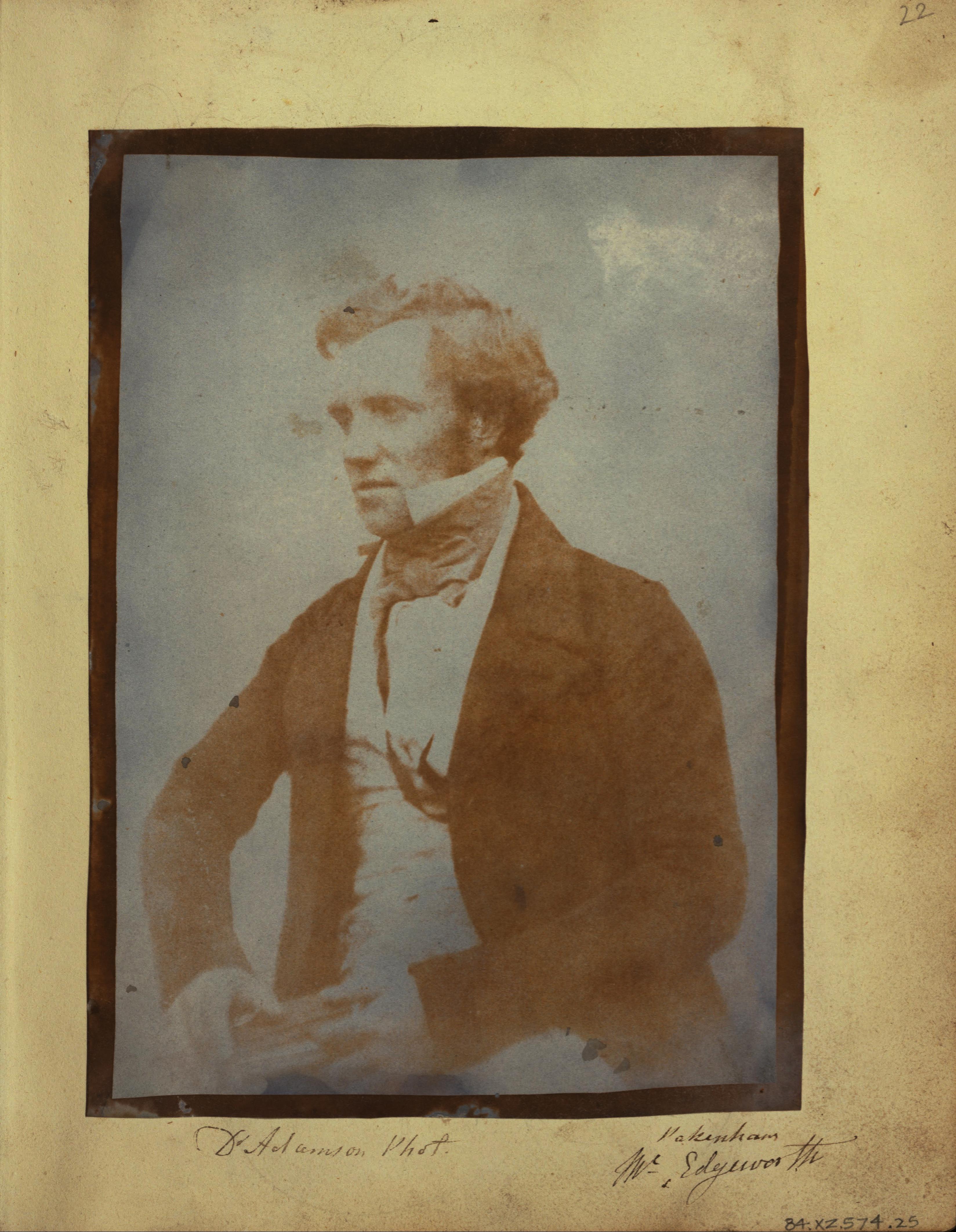Image of Michael Pakenham Edgeworth from Wikidata