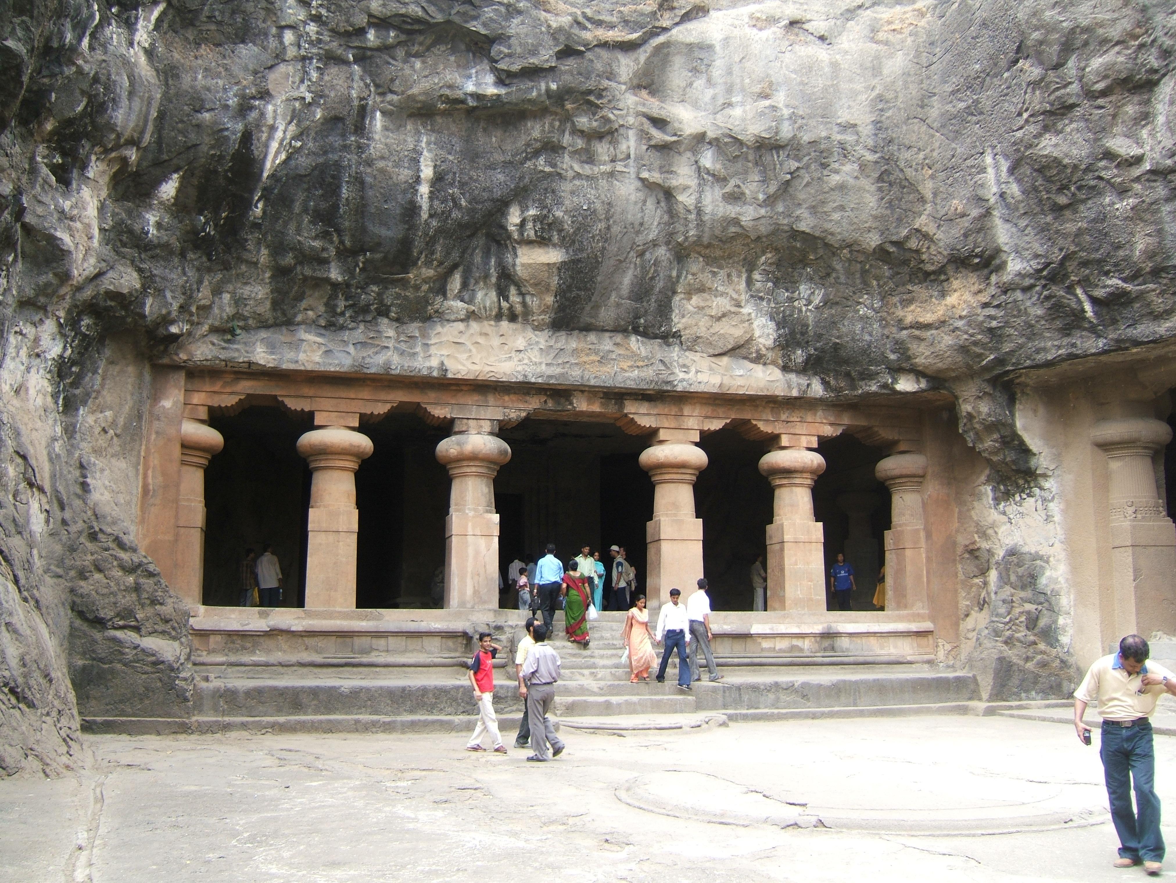 Elephanta Caves Island alias Gharapuri Island