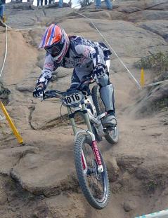 Eric Carter American BMX bicycle rider